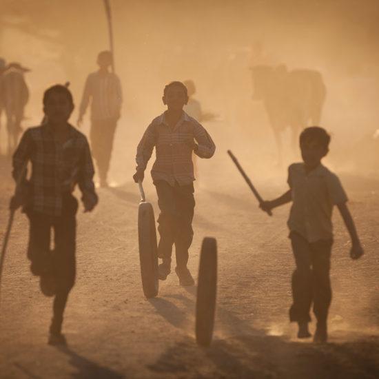 village life in Chandelao area, Rajasthan