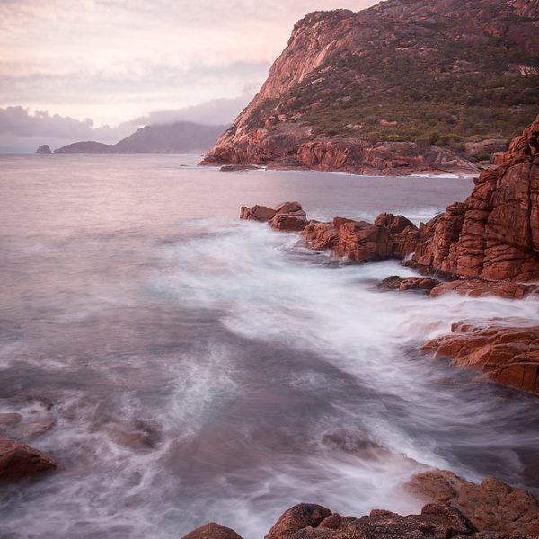 Sleepy Bay, Coles Bay, Tasmania.