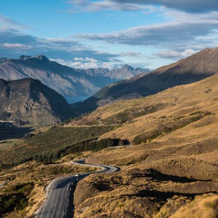 Road through the Mountains, Otago