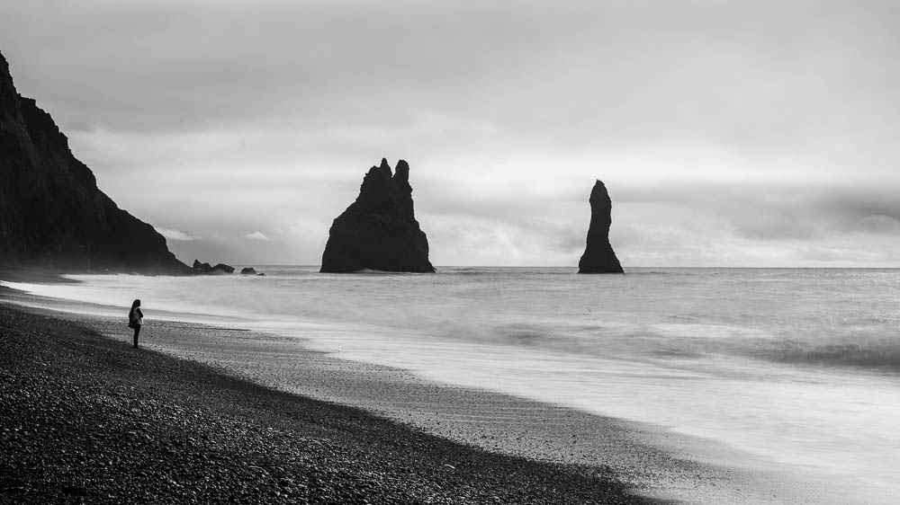 Reynisdrangar Sea Stacks, Iceland