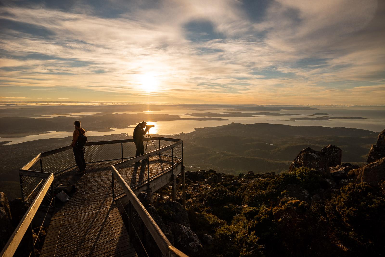 Dawn Mt Wellington